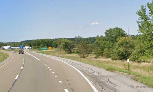 ny interstate 390 i390 new york geneseo rest area northbound mile marker 38