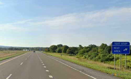 ny interstate 390 i390 new york mount morris rest area southbound mile marker 38