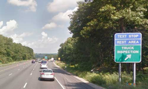 ny interstate 684 i684 new york brewster rest area northbound mile marker 25
