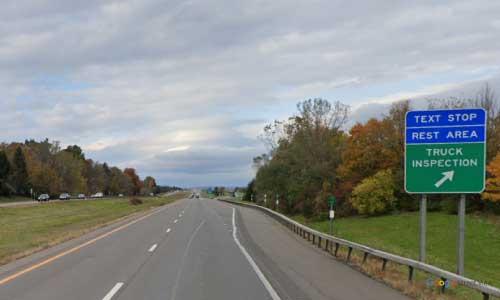 ny interstate 81 i81 new york preble rest area northbound mile marker 60