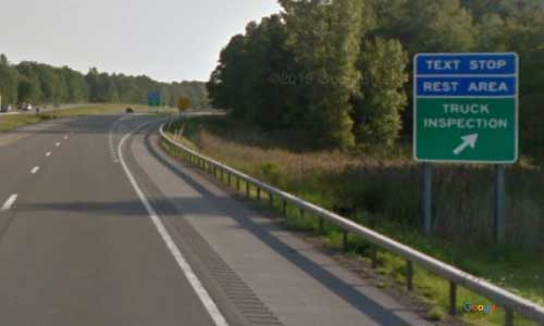 ny interstate 81 i81 new-york watertown rest area southbound mile marker 147