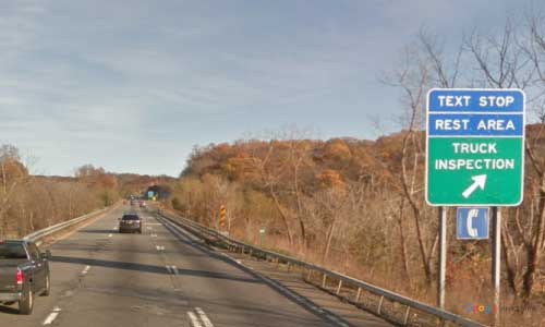 ny interstate 84 i84 new york east fishkill rest area eastbound mile marker 55