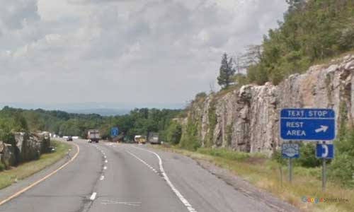 ny interstate 84 i84 new york east stormville rest area westbound mile marker 55