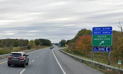 ny interstate 84 i84 new york wallkill rest area westbound mile marker 23