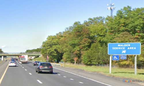 ny interstate 87 i87 new york thruway malden service plaza northbound mile marker 103