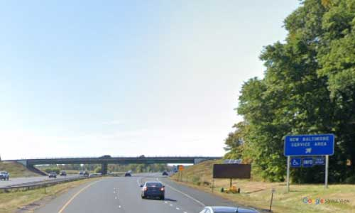 ny interstate 87 i87 new york thruway new baltimore service plaza southbound mile marker 127