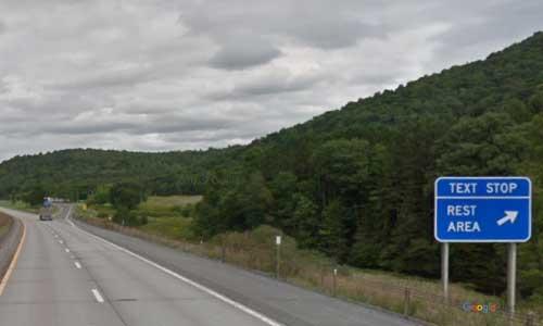 ny interstate 88 i88 new york worcester rest area eastbound mile marker 74