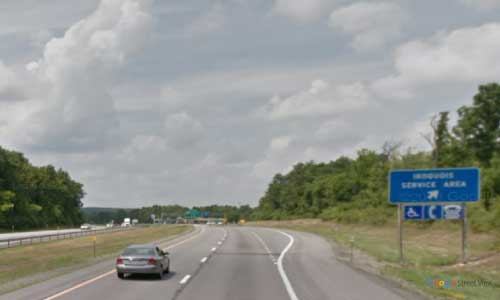 ny interstate 90 i90 new york thruway iroquois service plaza westbound mile marker 210