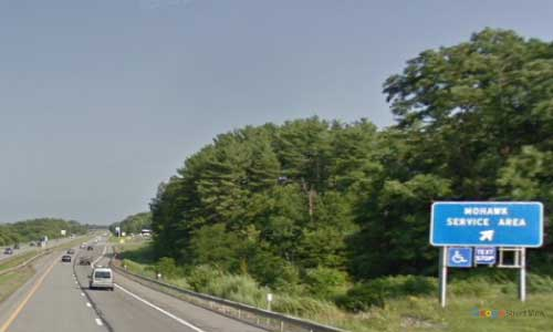 ny interstate 90 i90 new york thruway mohawk service plaza eastbound mile marker 172