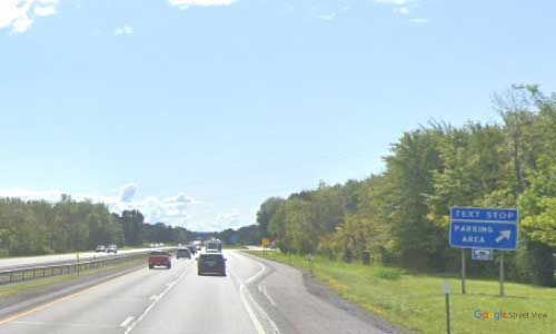 ny interstate 90 i90 new york thruway parking rest area westbound mile marker 256