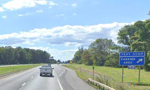 ny interstate 90 i90 new york thruway parking rest area westbound mile marker 318