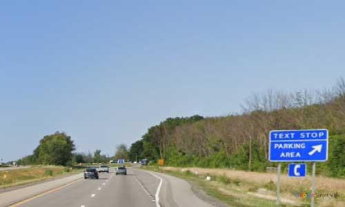 ny interstate 90 i90 new york thruway parking rest area westbound mile marker 442