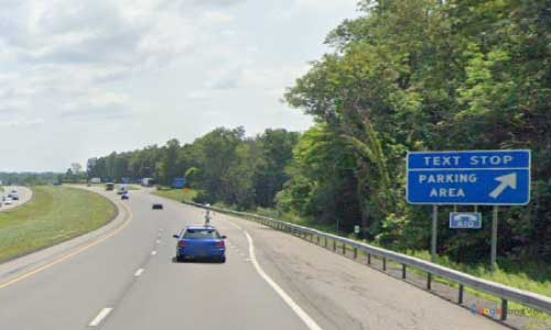 ny interstate90 i90 new york thruway parking rest area eastbound mile marker 353